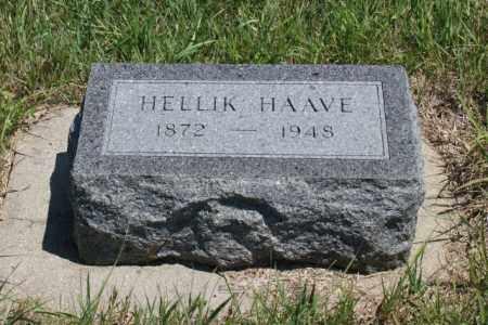 HAAVE, HELLIK - Boone County, Nebraska | HELLIK HAAVE - Nebraska Gravestone Photos