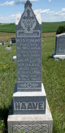 HAAVE, JULIA - Boone County, Nebraska | JULIA HAAVE - Nebraska Gravestone Photos