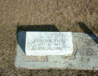 ELLICE HIRSCH, GERALDINE - Boone County, Nebraska   GERALDINE ELLICE HIRSCH - Nebraska Gravestone Photos