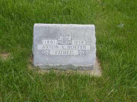 HOEFER, ANTON V. - Boone County, Nebraska | ANTON V. HOEFER - Nebraska Gravestone Photos