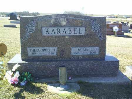 KARABEL, WILMA - Boone County, Nebraska | WILMA KARABEL - Nebraska Gravestone Photos