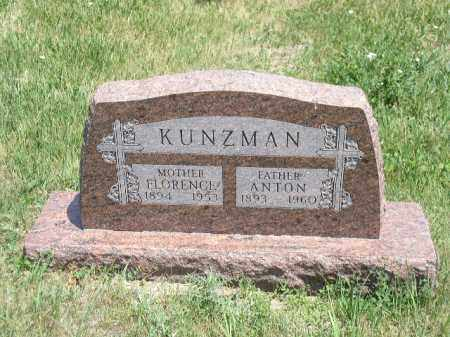 KUNZMAN, ANTON FRANCIS - Boone County, Nebraska | ANTON FRANCIS KUNZMAN - Nebraska Gravestone Photos