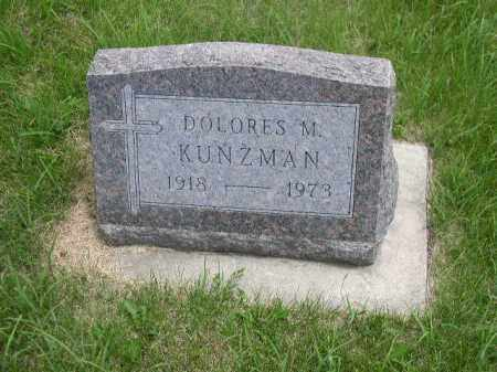 KUNZMAN, DOLORES M. - Boone County, Nebraska | DOLORES M. KUNZMAN - Nebraska Gravestone Photos