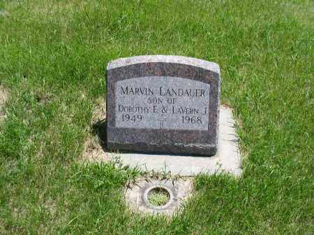 LANDAUER, MARVIN JOSEPH - Boone County, Nebraska   MARVIN JOSEPH LANDAUER - Nebraska Gravestone Photos