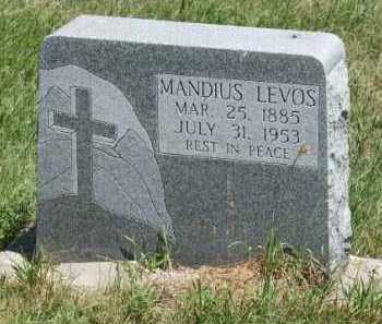 LEVOS, MANDIUS - Boone County, Nebraska | MANDIUS LEVOS - Nebraska Gravestone Photos