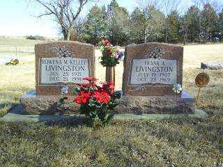 LIVINGSTON, FRANK - Boone County, Nebraska | FRANK LIVINGSTON - Nebraska Gravestone Photos