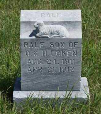 LOKEN, RALF - Boone County, Nebraska | RALF LOKEN - Nebraska Gravestone Photos