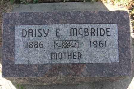 ALDRICH MCBRIDE, DAISY E. - Boone County, Nebraska   DAISY E. ALDRICH MCBRIDE - Nebraska Gravestone Photos