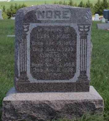 NORE, SYNNEVE - Boone County, Nebraska | SYNNEVE NORE - Nebraska Gravestone Photos