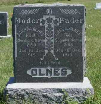 OLNES, BARBARA - Boone County, Nebraska | BARBARA OLNES - Nebraska Gravestone Photos