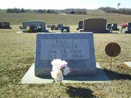 PITTENGER, PAUL - Boone County, Nebraska | PAUL PITTENGER - Nebraska Gravestone Photos