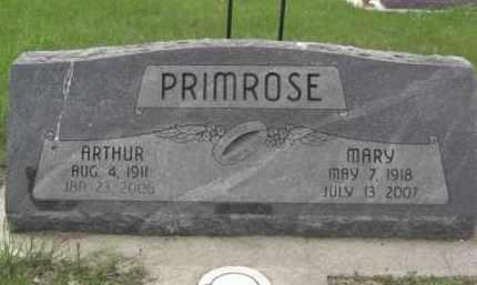 PRIMROSE, ARTHUR - Boone County, Nebraska | ARTHUR PRIMROSE - Nebraska Gravestone Photos