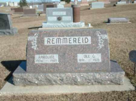 REMMEREID, OLE - Boone County, Nebraska | OLE REMMEREID - Nebraska Gravestone Photos