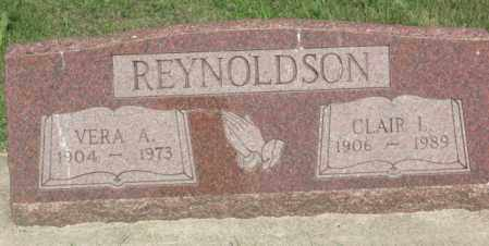 DUFOE REYNOLDSON, VERA ALTHEA - Boone County, Nebraska | VERA ALTHEA DUFOE REYNOLDSON - Nebraska Gravestone Photos