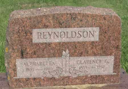 BROCK REYNOLDSON, ALPHARETTA - Boone County, Nebraska | ALPHARETTA BROCK REYNOLDSON - Nebraska Gravestone Photos