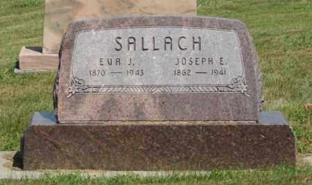 BAKER SALLACH, EVA J. - Boone County, Nebraska | EVA J. BAKER SALLACH - Nebraska Gravestone Photos