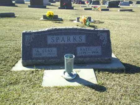SPARKS, HAZEL - Boone County, Nebraska   HAZEL SPARKS - Nebraska Gravestone Photos