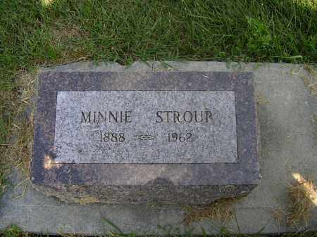 DAIGH STROUP, MINNIE E - Boone County, Nebraska | MINNIE E DAIGH STROUP - Nebraska Gravestone Photos