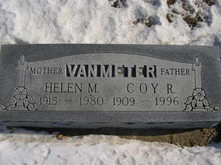 VAN METER, HELEN M - Boone County, Nebraska | HELEN M VAN METER - Nebraska Gravestone Photos