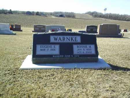 WARNKE, BONNIE - Boone County, Nebraska | BONNIE WARNKE - Nebraska Gravestone Photos