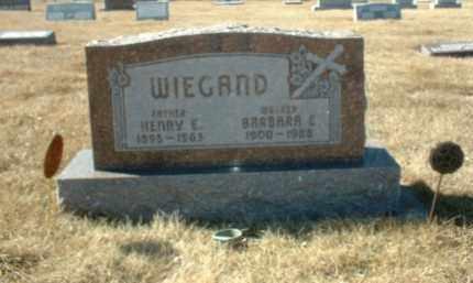 WIEGAND, HENRY - Boone County, Nebraska | HENRY WIEGAND - Nebraska Gravestone Photos