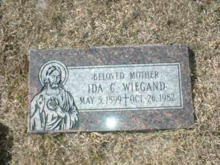 WIEGAND, IDA - Boone County, Nebraska | IDA WIEGAND - Nebraska Gravestone Photos