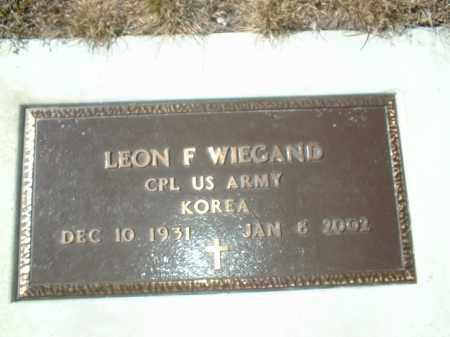 WIEGAND, LELAND - Boone County, Nebraska | LELAND WIEGAND - Nebraska Gravestone Photos