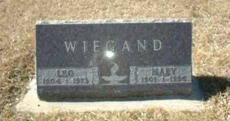 WIEGAND, MARY - Boone County, Nebraska | MARY WIEGAND - Nebraska Gravestone Photos