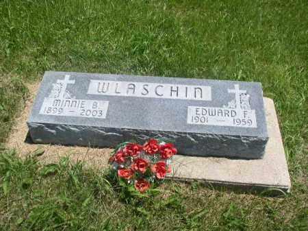 MCHENRY WLASCHIN, MINNIE BELLE - Boone County, Nebraska | MINNIE BELLE MCHENRY WLASCHIN - Nebraska Gravestone Photos
