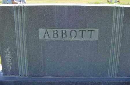 ABBOTT, FAMILY - Box Butte County, Nebraska   FAMILY ABBOTT - Nebraska Gravestone Photos