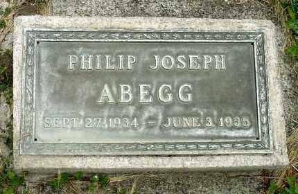 ABEGG, PHILIP JOSEPH - Box Butte County, Nebraska | PHILIP JOSEPH ABEGG - Nebraska Gravestone Photos