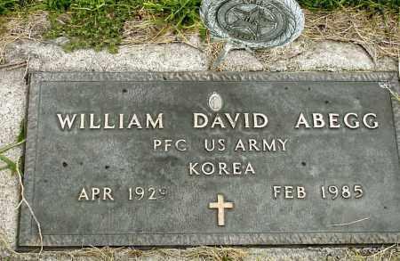 ABEGG, WILLIAM DAVID - Box Butte County, Nebraska | WILLIAM DAVID ABEGG - Nebraska Gravestone Photos