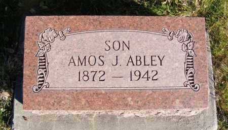 ABLEY, AMOS J. - Box Butte County, Nebraska | AMOS J. ABLEY - Nebraska Gravestone Photos