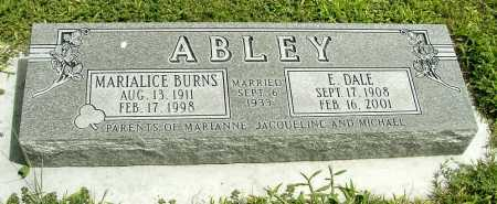 ABLEY, E. DALE - Box Butte County, Nebraska | E. DALE ABLEY - Nebraska Gravestone Photos