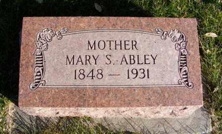 ABLEY, MARY S. - Box Butte County, Nebraska   MARY S. ABLEY - Nebraska Gravestone Photos