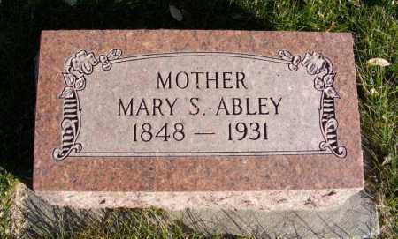 ABLEY, MARY S. - Box Butte County, Nebraska | MARY S. ABLEY - Nebraska Gravestone Photos