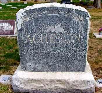 ACHESON, FAMILY - Box Butte County, Nebraska   FAMILY ACHESON - Nebraska Gravestone Photos