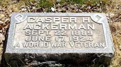 ACKERMAN, CASPER H. - Box Butte County, Nebraska | CASPER H. ACKERMAN - Nebraska Gravestone Photos
