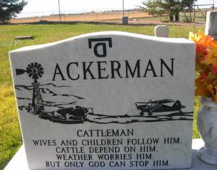 ACKERMAN, GEORGE BARTLEY - Box Butte County, Nebraska | GEORGE BARTLEY ACKERMAN - Nebraska Gravestone Photos