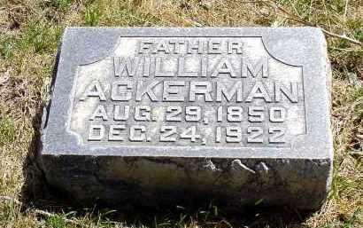 ACKERMAN, WILLIAM - Box Butte County, Nebraska   WILLIAM ACKERMAN - Nebraska Gravestone Photos