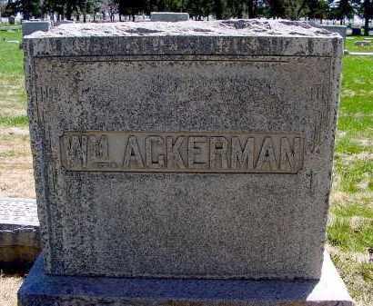 ACKERMAN, WILLIAM - Box Butte County, Nebraska | WILLIAM ACKERMAN - Nebraska Gravestone Photos