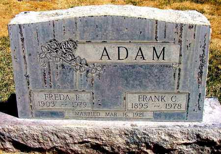 ADAM, FREDA F. - Box Butte County, Nebraska | FREDA F. ADAM - Nebraska Gravestone Photos