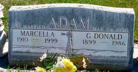 ADAM, MARCELLA - Box Butte County, Nebraska | MARCELLA ADAM - Nebraska Gravestone Photos