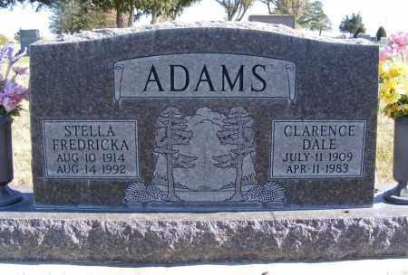 ADAMS, STELLA FREDRICKA - Box Butte County, Nebraska | STELLA FREDRICKA ADAMS - Nebraska Gravestone Photos