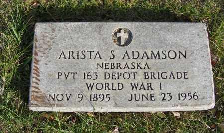 ADAMSON, ARISTA S. - Box Butte County, Nebraska | ARISTA S. ADAMSON - Nebraska Gravestone Photos