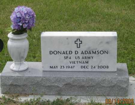 ADAMSON, DONALD  D. - Box Butte County, Nebraska | DONALD  D. ADAMSON - Nebraska Gravestone Photos