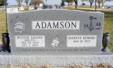 ADAMSON, ROSALIE LILLIAN - Box Butte County, Nebraska | ROSALIE LILLIAN ADAMSON - Nebraska Gravestone Photos