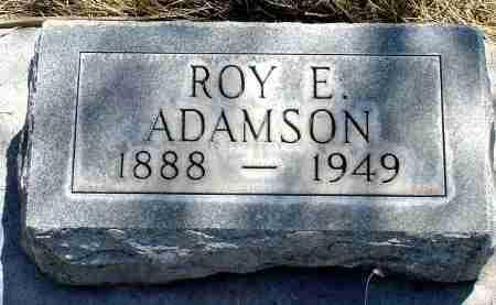 ADAMSON, ROY E. - Box Butte County, Nebraska | ROY E. ADAMSON - Nebraska Gravestone Photos