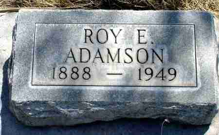 ADAMSON, ROY E. - Box Butte County, Nebraska | ROY E. ADAMSON - Nebraska Gravestone Photos