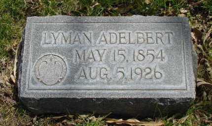 ADELBERT, LYMAN - Box Butte County, Nebraska | LYMAN ADELBERT - Nebraska Gravestone Photos